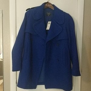 Abercrombie and Fitch wool blend coat